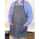 Safety Detail Apron, Denim with Pockets