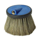 Foam Brush Un Round 4in Hog Hair Blue