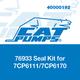 Cat Pumps 76933 Seal Kit 7CP6111/7CP6170
