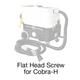 Cobra-H, 388 Flat Head Screw