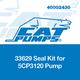 Cat Pumps 33629 Seal Kit 5CP3120 Pump