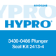 Hypro 3430-0486 Seal Kit 2400 Series