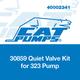 Cat Pumps 30859 Quiet Valve Kit 323 Pump