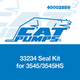 Cat Pumps 33234 Seal Kit for 3545/3545HS