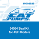 Cat Pumps 34054 Seal Kit 4SF Models