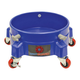 Grit Guard Bucket Dolly, Blue w/Casters