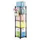 Tolco Vertical Storage 5-Shelf Rack