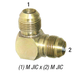 Elbow 2500-8 Union Male JIC 1/2in