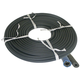Hose, Wire Braid Black Rubber 3/8in