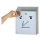 Smokers Station R1012 SS Wall Mount