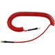 Poly, Spiral Hose 1/4in x 25ft RD