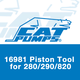 Cat Pumps 16981 Piston Tool for 820