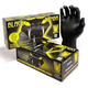 Gloves, Black Mamba Nitril, Med 100/Box