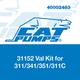 Cat Pumps 31152 Val Kit 311/341/351/311C