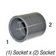 Coupler 829-007 PVC80 3/4in Slp