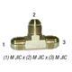Tee 2603-8 Union Male JIC 1/2in