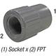 Coupler 835-012 1-1/4in Slp x 1-1/4in F