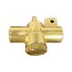 Powr-Flite PX18 Fitting, Brass, Bulkhead