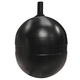 Float Ball Round Poly 1/4-20 Spud 4in
