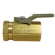 Ball Valve, 2Way Brass 1/4in F x 1/4in F