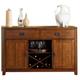 Liberty Furniture Urban Mission Server in Dark Mission Oak Finish 27-SR5236