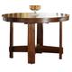Liberty Furniture Urban Mission Leg Table in Dark Mission Oak Finish 27-T4866