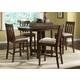 Liberty Furniture Urban Mission 5pc Pub Table Set in Dark Mission Oak Finish 27-PUB