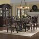 Samuel Lawrence Furniture San Marino 9pc Formal Dining Room in Sanibel Finish 3530P