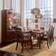 American Drew Tribecca 7-Pc Leg Table Dining Set