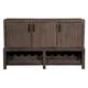 Alpine Furniture Fiji Sideboard in Weathered Gray ORI-814-04