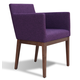 Soho Concept Harput Wood Lounge Armchair
