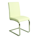 Pastel Furniture Monaco Side Chair in Ivory (Set of 2) MC-110-SS-978