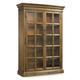 Hooker Furniture Shelbourne Display Cabinet in Lustrous Caramel 5339-75908