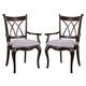 Hooker Furniture Preston Ridge Double X Back Arm Chair (Set of 2) 864-75-400 SALE Ends Oct 22