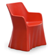 Domitalia Phantom Arm Chair in Red