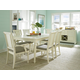 Broyhill Seabrooke 7Pc Rectangular Dining Set in Cream