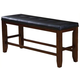 Acme Urbana Counter Height Dining Bench in Cherry 00679