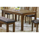 Acme Morrison Rectangular Dining Table in Dark Oak 00840