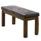 Acme Morrison Dining Bench in Dark Oak 00843