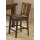 Acme Morrison Counter Height Chairs in Dark Oak 00846 (Set of 2)