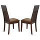 Acme Medora Side Chairs in Espresso 00856 (Set of 2)