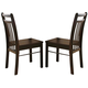 Acme Serra Side Chairs in Espresso 00862 (Set of 2)