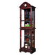 Acme Tina Curio with Glass Doors in Cherry 01042