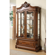 Acme Laredo Curio with Glass Doors in Espresso 01500