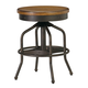 Universal Furniture Great Rooms Factory Stool (Set of 2) in Hickory Stick 025702