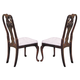 Acme Queen Anne Centennial Side Chairs in Cherry 02923 (Set of 2)