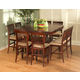 New Classic Brendan 8pc Counter Height Dining Table Set in Espresso 04-0705