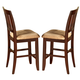 New Classic Brendan Counter Height Chairs in Espresso (Set of 2) 04-0705-020