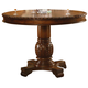 Acme Chateau De Ville Round Counter Height Pedestal Tabe in Cherry 04082 PROMO CLEARANCE