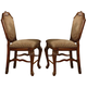 Acme Chateau De Ville Counter Height Chairs in Cherry 04084 (Set of 2) PROMO CLEARANCE
